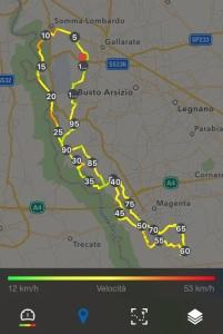 Percorso 100 km